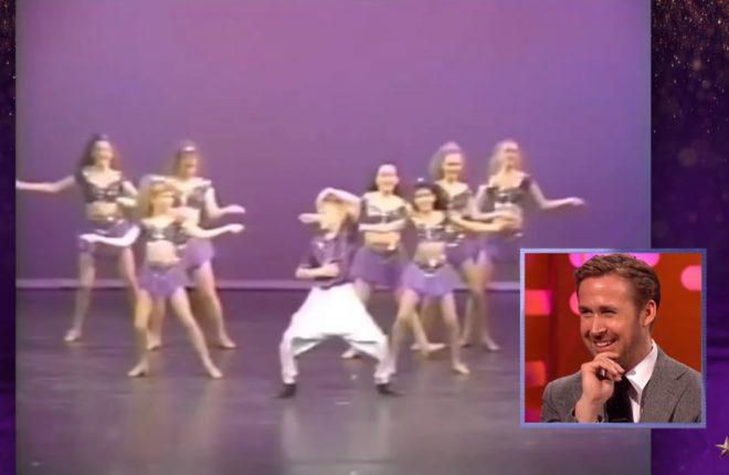 ryan gosling dança criança