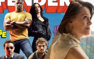 """FOTOS: """"Os Defensores"""" + Sigourney Weaver estão reunidos na Entertainment Weekly!"""