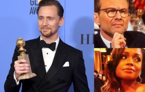 Discurso de Tom Hiddleston no Globo de Ouro causou certa controvérsia na internet