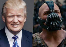 """Descobriram uma semelhança entre os discursos de Trump e Bane, vilão do """"Batman"""""""