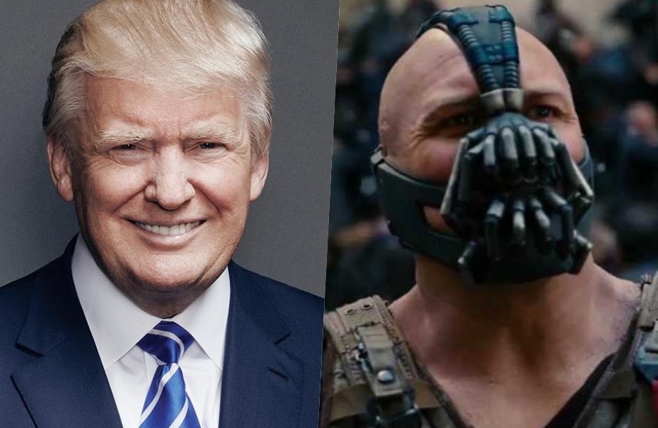 Descobriram Uma Semelhança Entre Os Discursos De Trump E Bane Vilão