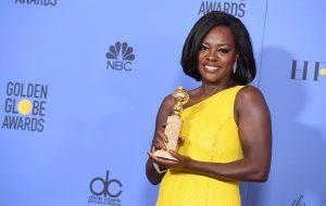 Viola Davis é a primeira atriz negra a ser indicada três vezes ao Oscar!