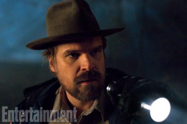 Stranger Things (2017) David Harbour as Chief Jim Hopper Season 2, Episode TK