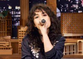 Alessia Cara imita Ariana Grande, Nicki Minaj e Lorde no Jimmy Fallon