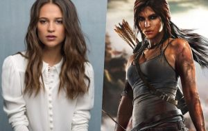 "Alicia Vikander aparece como Lara Croft no set de ""Tomb Raider"""