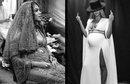 Bey nos bastidores do Grammy