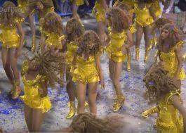 Veja como foi a homenagem da Unidos da Tijuca à Beyoncé, Rihanna, Michael Jackson, Prince e outros…