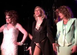 "Maravilhosa! Cate Blanchett dubla ""You Don't Own Me"" numa boate de drag queens em NY"
