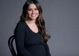 Cheryl revela oficialmente a gravidez em sessão de fotos