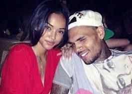 Após sofrer ameaça de morte, ex-namorada de Chris Brown pede ordem de restrição