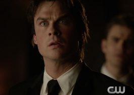 """MEU DEUS! Damon e Elena em prévia da final de """"Vampire Diaries"""""""