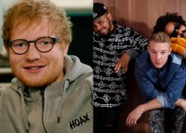 "Vem ouvir esse remix do Major Lazer para ""Shape of You"", do Ed Sheeran!"