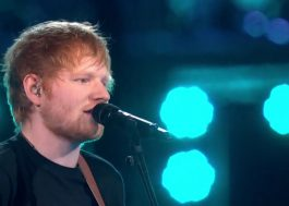 "Ed Sheeran canta ""Castle on the Hill"" e ""Shape of You"" no BRIT Awards 2017"