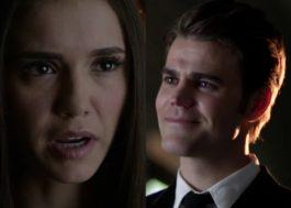 """Elena se encontra com Stefan em nova prévia de """"Vampire Diaries"""""""