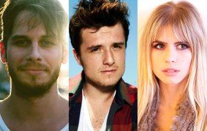 Vocalista e tecladista do Foster the People se apresentarão no Rio; Josh Hutcherson e Carlson Young também vêm!