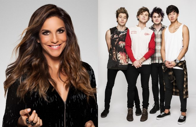 ivete 5 seconds of summer rock in rio