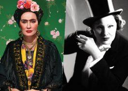 Jessica Lange se transforma em oito mulheres icônicas para sessão de fotos!