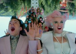 "Katy Perry inaugura seu parque de diversões no clipe de ""Chained to the Rhythm"""