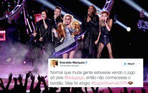 """""""Lady Gaga, você é ridícula""""; locutor usa bordão famoso no Super Bowl e o Twitter surta"""