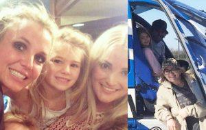 Maddie deixa hospital após acidente; Britney e Jamie Lynn Spears agradecem as orações <3
