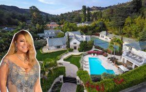 Mariah Carey aluga mansão em Beverly Hills por 100 mil dólares (por mês!)