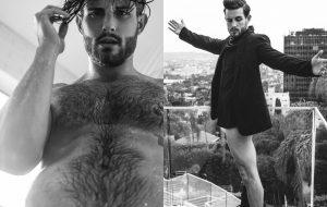 """Nico Tortorella, da série """"Younger"""", tira a calça e a camiseta em ensaio sensual"""