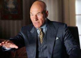 """Patrick Stewart não interpretará mais o Professor Xavier na franquia """"X-Men"""""""