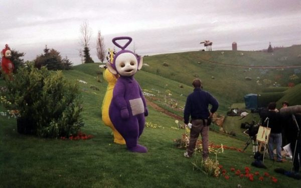 teletubbies bastidores