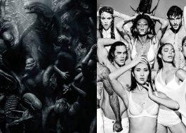 """Gente, esse pôster de """"Alien: Covenant"""" não parece um ensaio de """"America's Next Top Model""""?"""