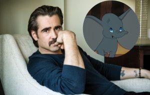 """Colin Farrell deve fazer live-action de """"Dumbo"""", dirigido por Tim Burton"""