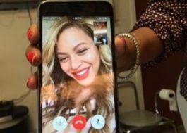 De surpresa, Beyoncé faz ligação por vídeo com fã com câncer