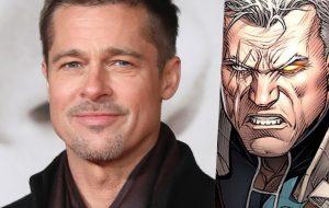 """Brad Pitt em """"Deadpool 2""""? Artes do ator como Cable vazam e Fox manda deletar!"""