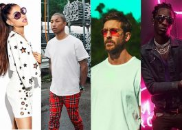 "Ariana Grande, Pharrell e Young Thug se juntam Calvin Harris no single ""Heatstroke"""
