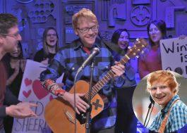 Rupert Grint não aguenta mais fingir que é o Ed Sheeran, tá?