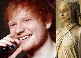 """Ed Sheeran estará em """"Game Of Thrones"""" e mais novidades da 8ª temporada!"""