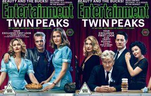 """""""Twin Peaks"""" está de volta em capas lindas da Entertainment Weekly"""