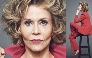 Jane Fonda critica o patriarcado e diz que já foi estuprada na infância e assediada por chefe