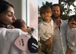 Jared Padalecki e a esposa Genevieve Cortese dão as boas-vindas ao terceiro filho!