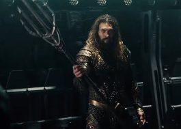 """Aquaman pronto pro fight em prévia de """"Liga da Justiça"""""""