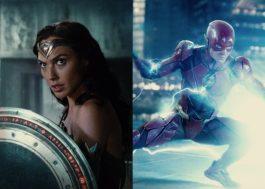 """Mulher-Maravilha e The Flash são destaques em novas prévias de """"Liga da Justiça"""""""