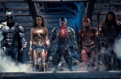 Trailer de Liga da Justiça!