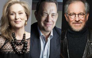 Spielberg dirigirá filme com Meryl Streep e Tom Hanks sobre os Documentos do Pentágono