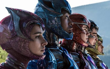 Mais filmes dos Power Rangers!