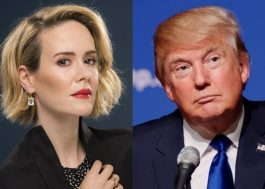 "Sarah Paulson quer interpretar Donald Trump em ""American Horror Story"""
