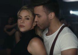 """Shakira seduzindo o cantor Prince Royce no clipe """"Deja vu"""""""