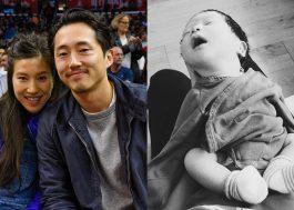 Steve Yeun, Glenn de TWD, é papai! Nasce o primeiro filho dele e da esposa