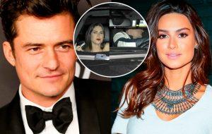 Sem Katy Perry, Orlando Bloom dá um passeio com a Thaila Ayala