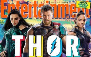 """Chris Hemsworth está de visual novo em """"Thor: Ragnarok"""" na capa da EW"""