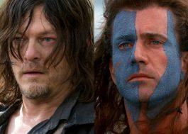 """Final de temporada de """"The Walking Dead"""" lembra """"Coração Valente"""", diz Norman Reedus"""