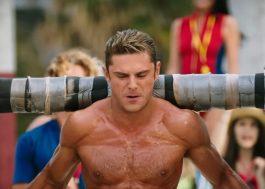 """Zac Efron tá suado e bombadão (pra variar) no novo trailer do maravilhoso """"Baywatch"""""""